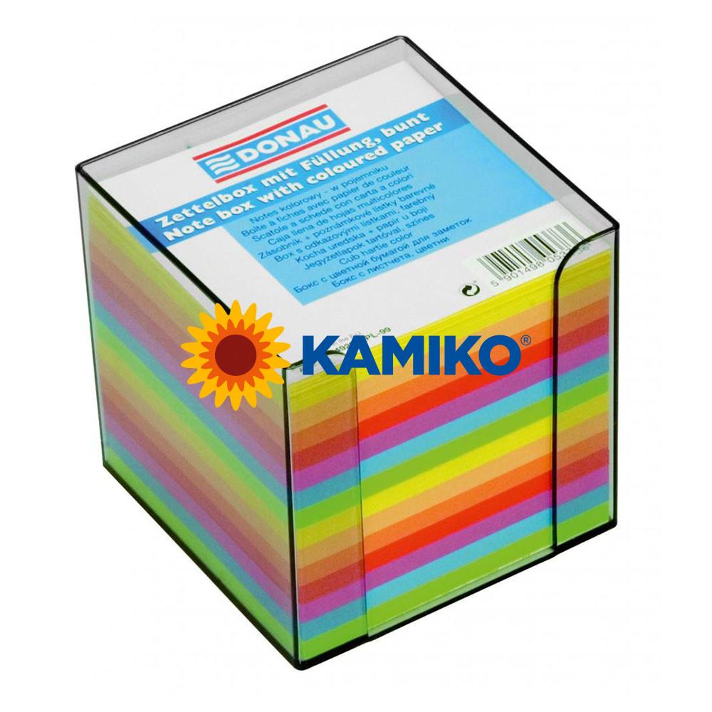 Kocka neónová nelepená 90 x 90 x 90 mm v škatuľke