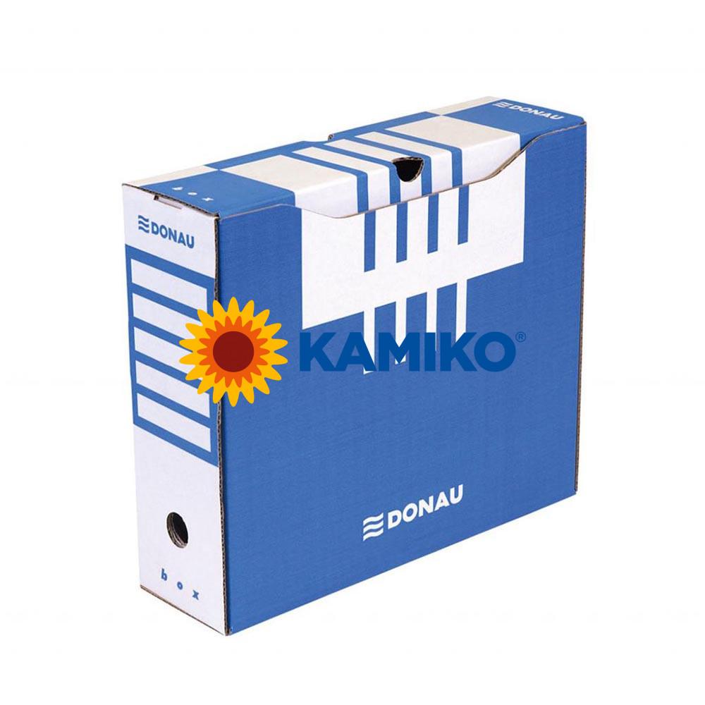 Archívny box DONAU 100 mm modrý