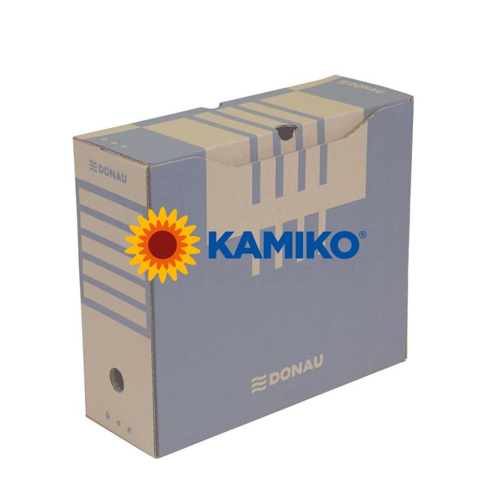 Archívny box DONAU 120 mm hnedý