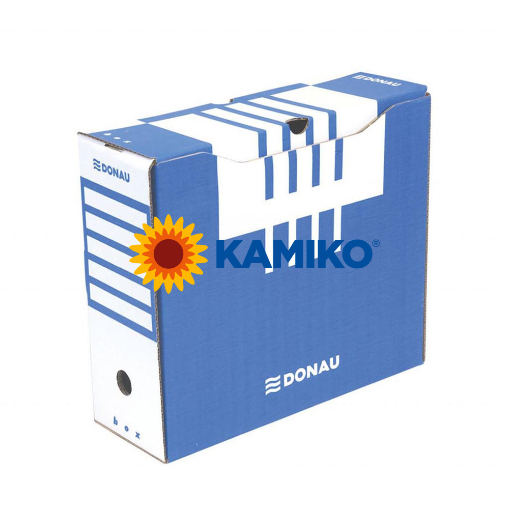 Archívny box DONAU 120 mm modrý