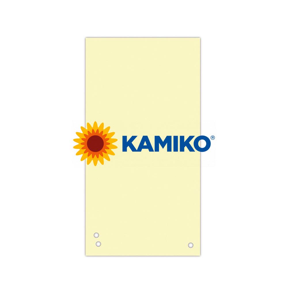 Kartónový rozraďovač DONAU úzky žltý
