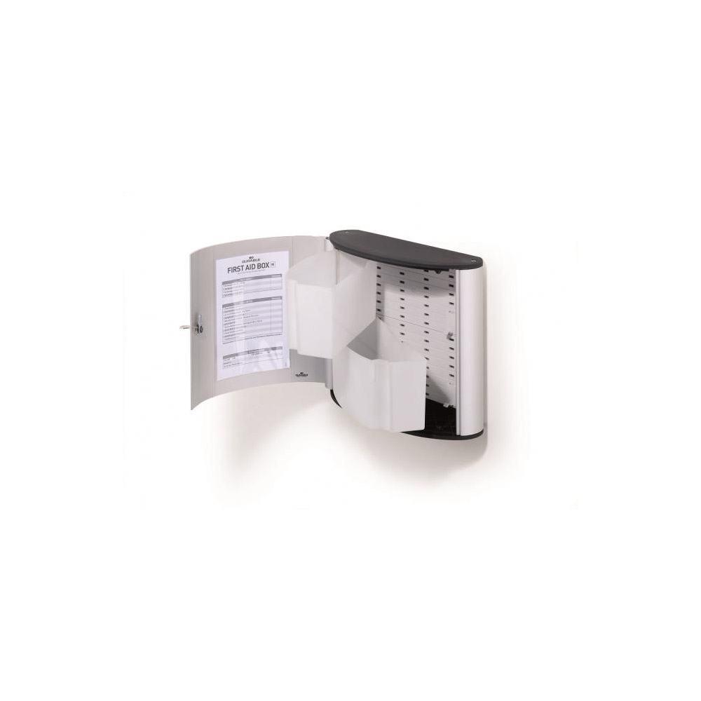 Lekárnička s 2 priehradkami DURABLE FIRST AID BOX bez náplne