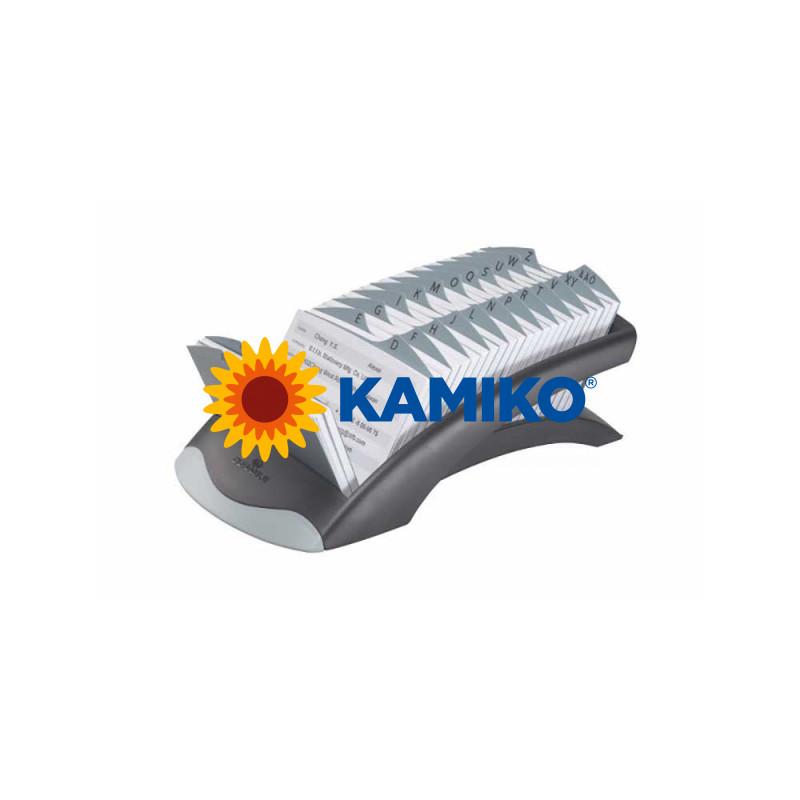 Záznamník TELINDEX Desk VEGAS čierny/sivý