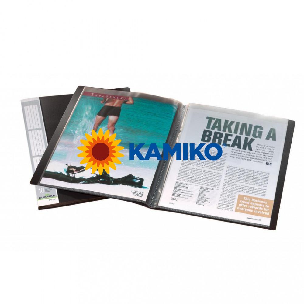 Katalógová kniha 10 DURALOOK čierna