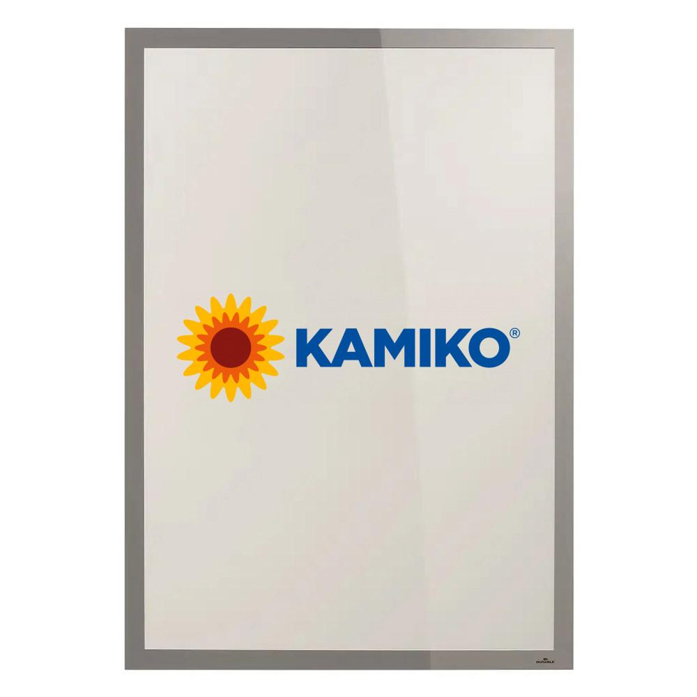 Samolepiaci Duraframe Poster Sun 70 x 100 cm, strieborný