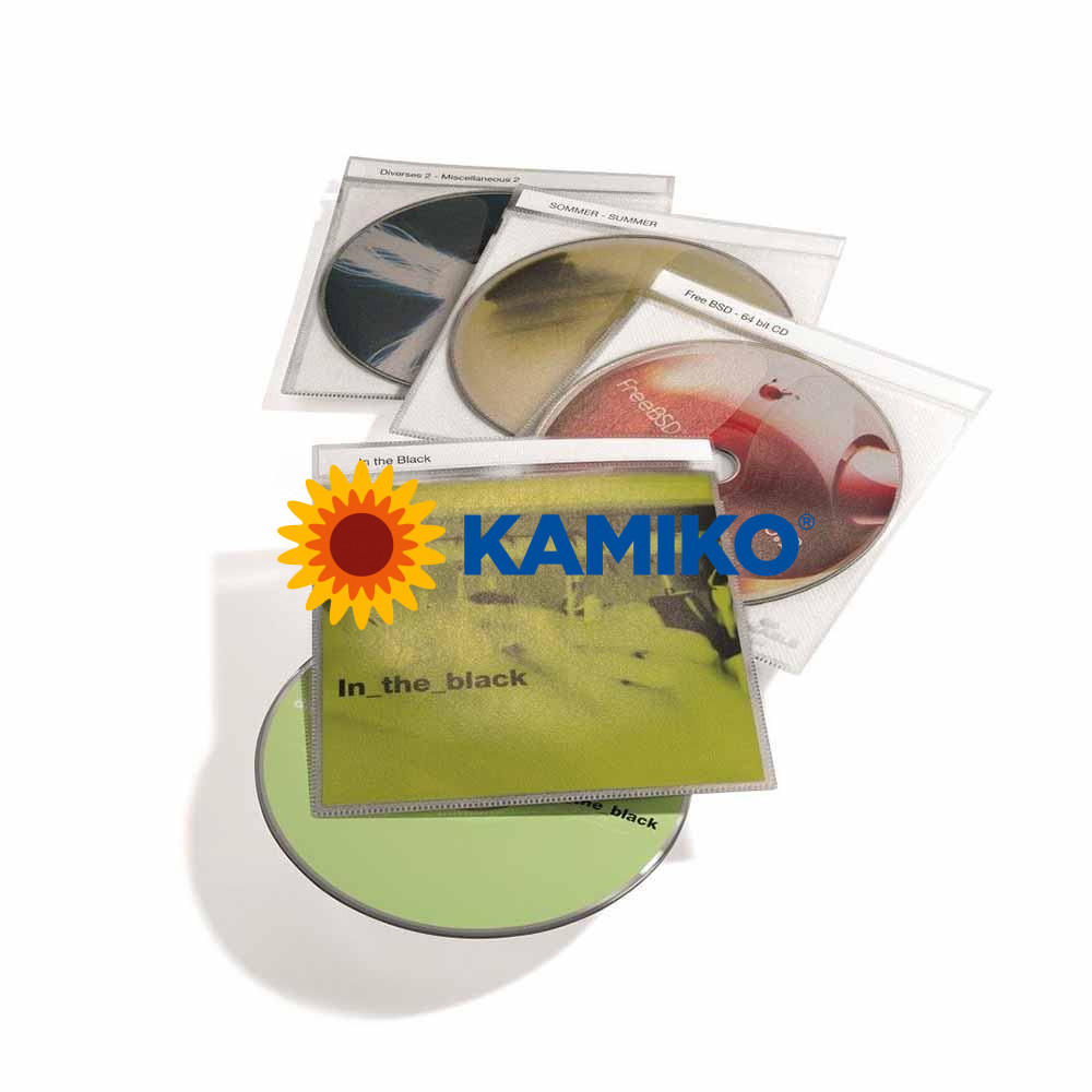 Vrecko na CD/DVD s potláčateľným indexom, 10 ks