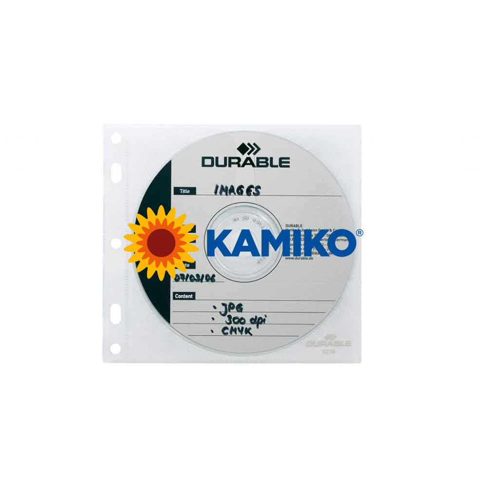 Vrecká na CD/DVD COVER FILE do zakladačov,10 ks