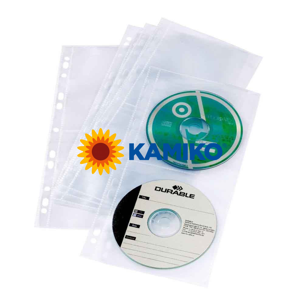 Obaly na CD\DVD COVER LIGHT S, 5 ks