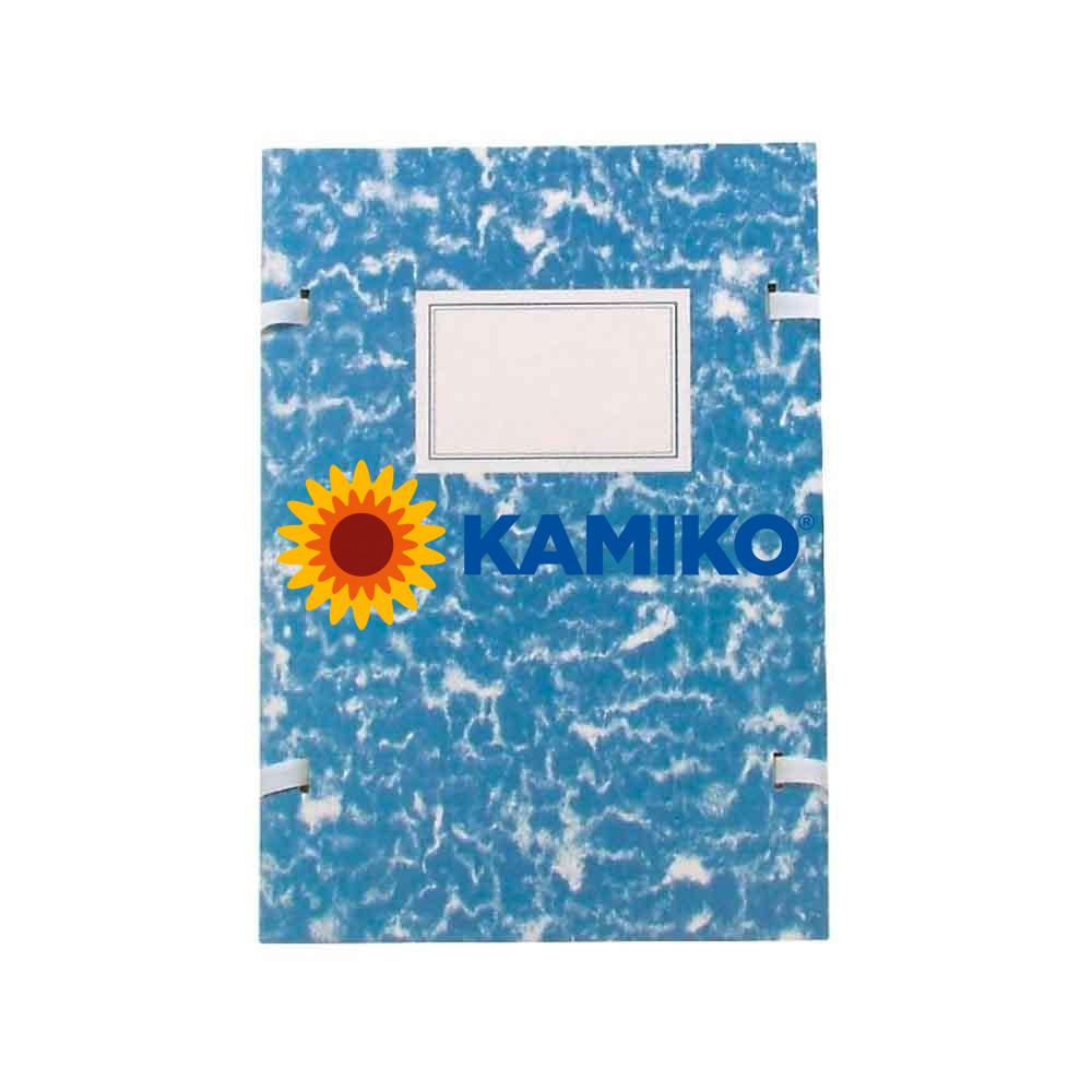 Spisové dosky A4 mramor modré