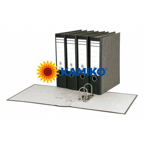 Zakladač pákový Mramor Basic 7,5 cm čierny
