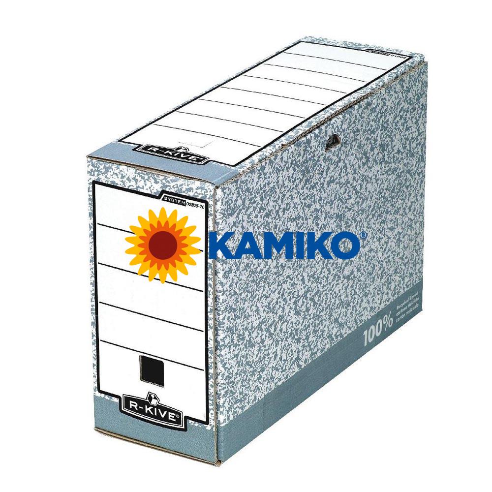 Archívny box Fellowes BANKERS BOX 105 mm sivý/biely