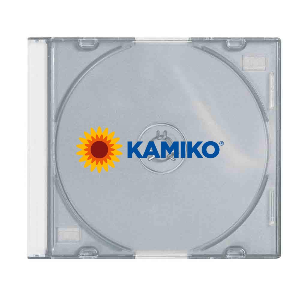 Plexi obal na CD slimline číry, 25 ks