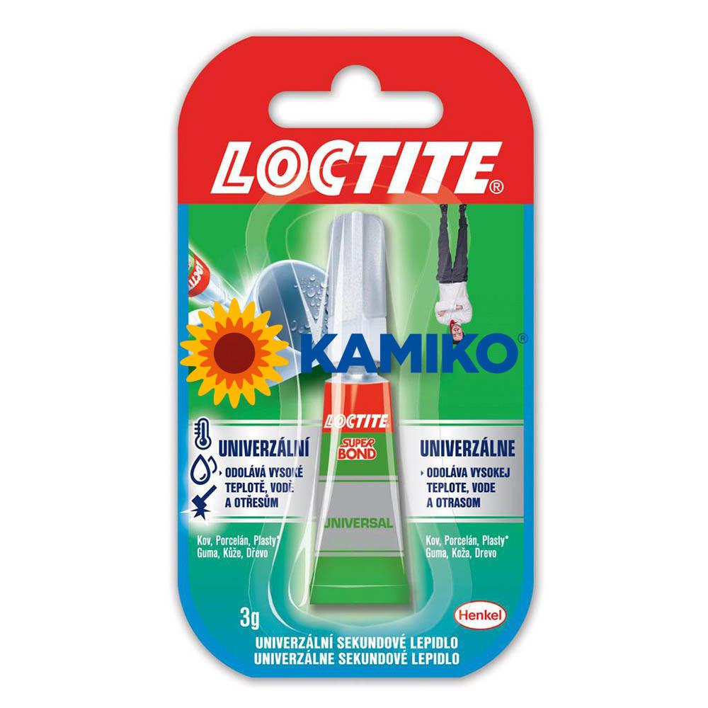 Sekundové lepidlo Loctite Super Bond Liquid 3 g