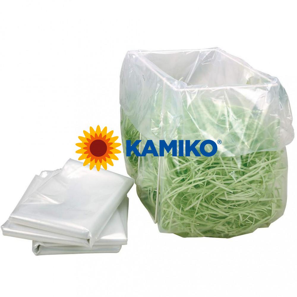 Odpadové vrecia pre skartátory 530 x 340 x 1 000 mm, 100 ks