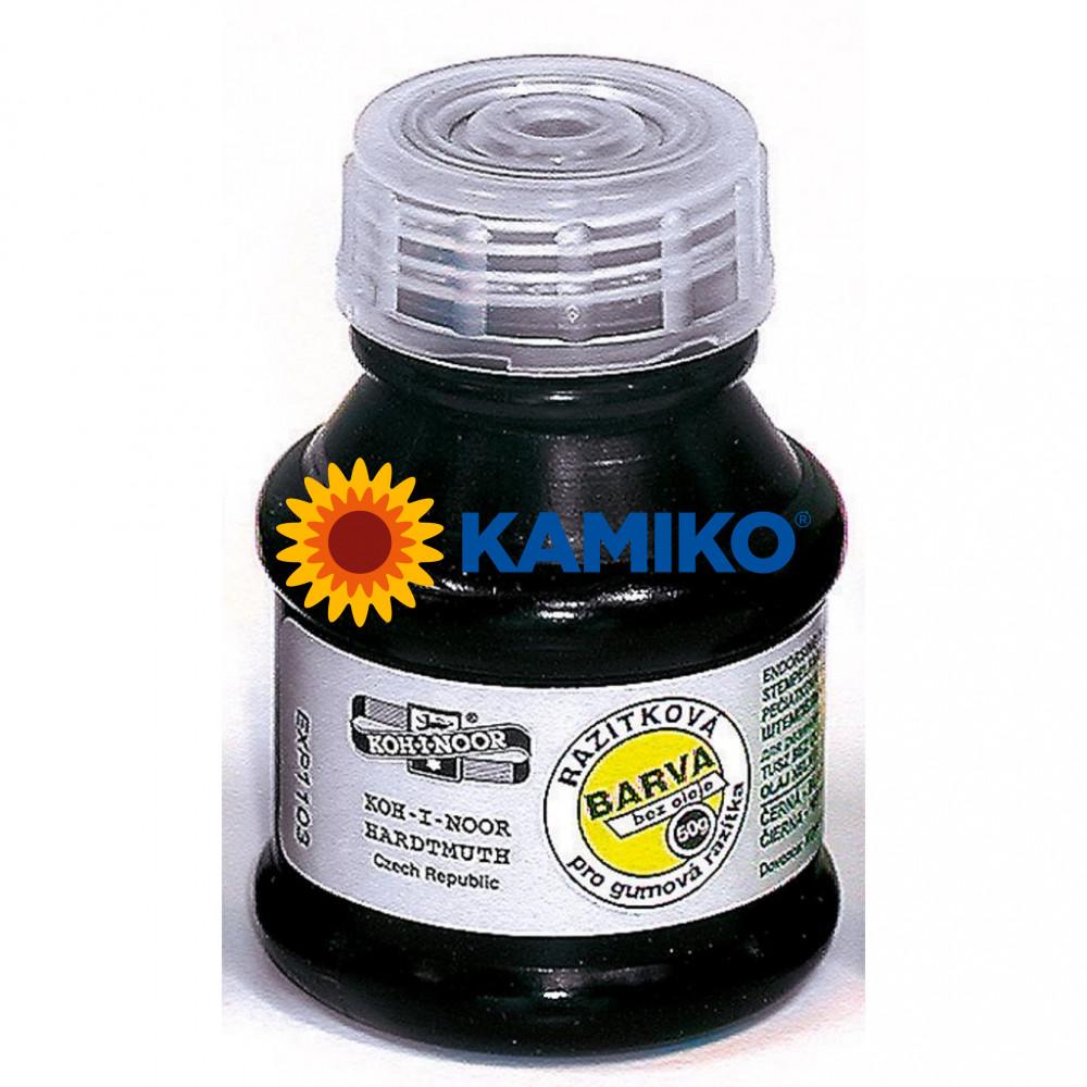 Pečiatková farba Koh-i-noor čierna 50 ml