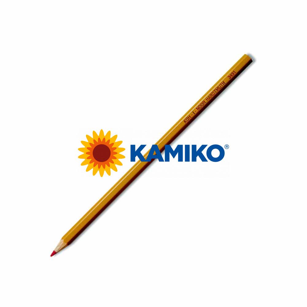 Ceruzka KOK-I-NOOR červená 3431, 12 ks