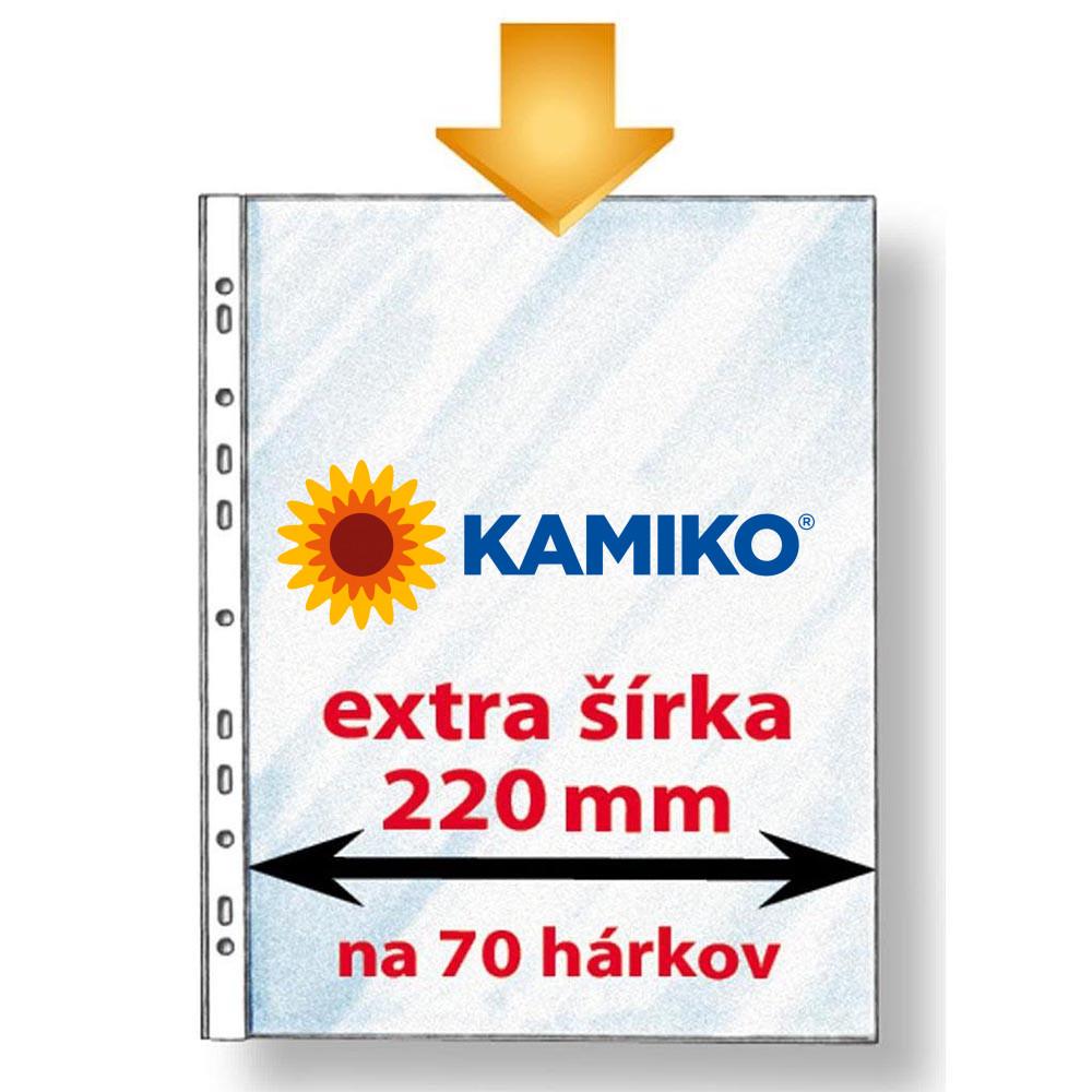 Euroobal Karton PP economy A4 maxi extra široký 50 mic.