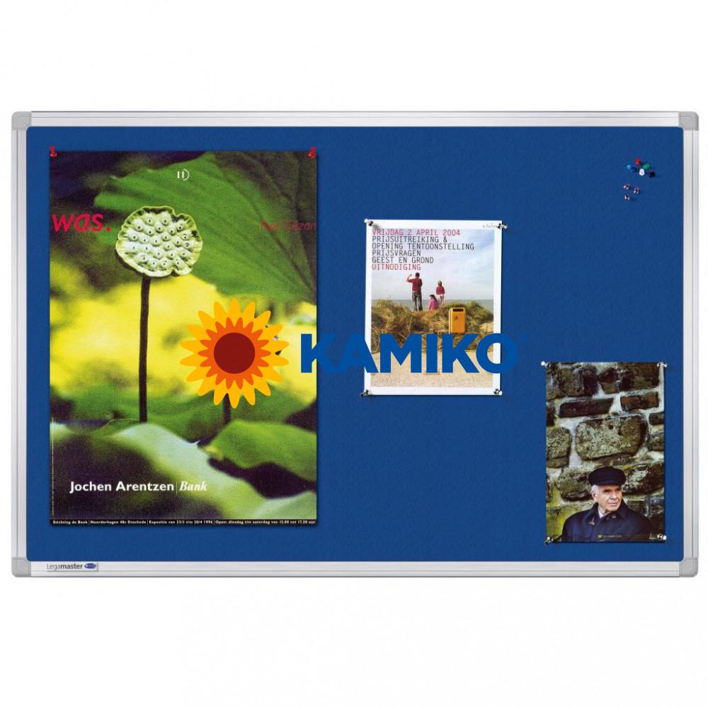 Tabuľa napichovacia UNIVERSAL 60 x 90 cm, modrá