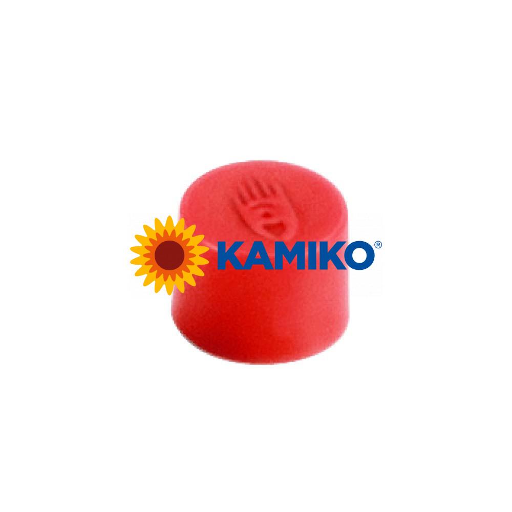 Magnet 10 mm červený,10 ks