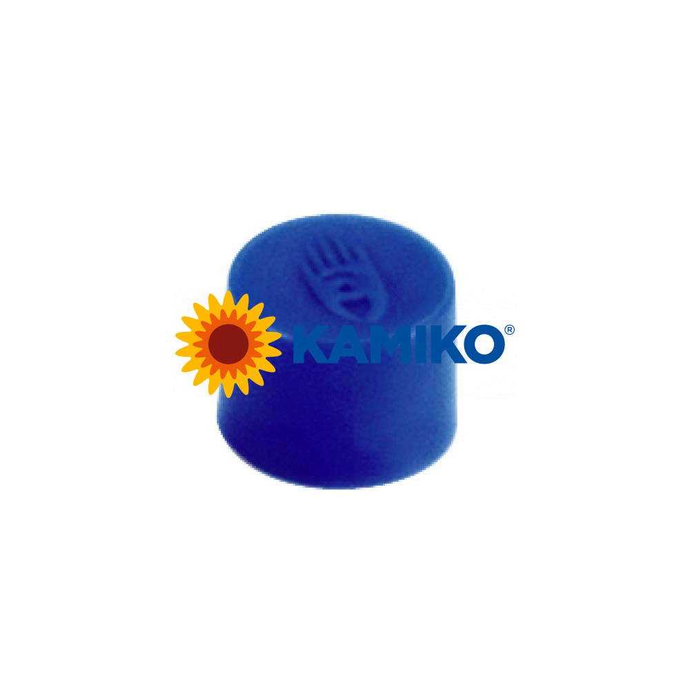 Magnet 10 mm modrý, 10 ks