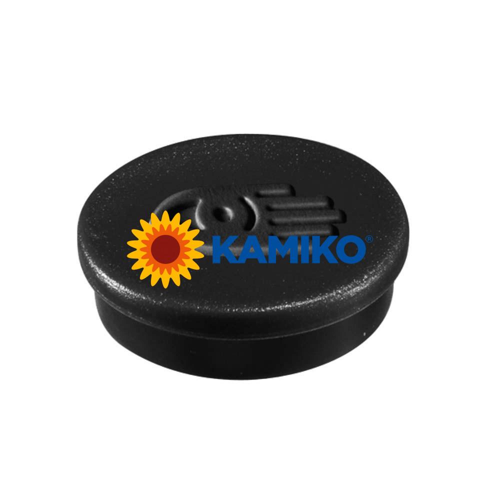 Magnet 20 mm čierny, 10 ks