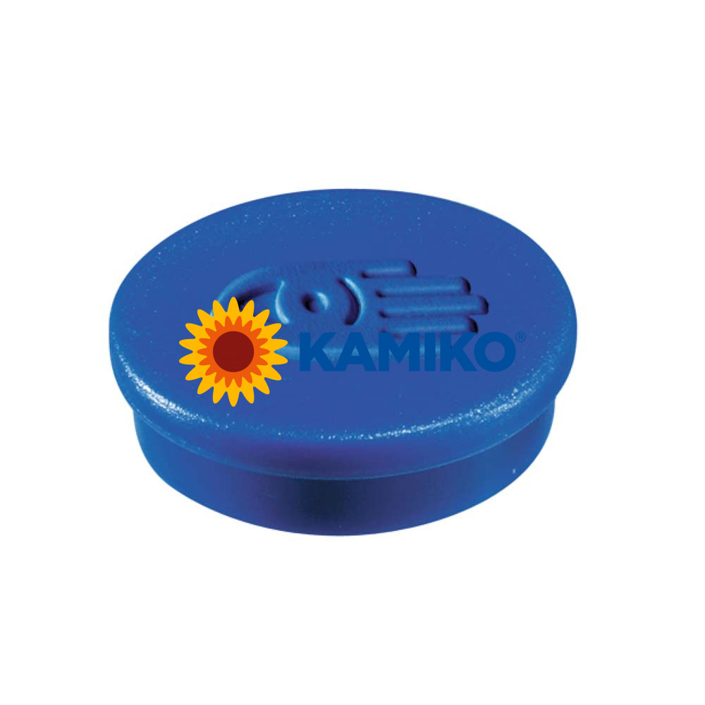 Magnet 20 mm modrý, 10 ks