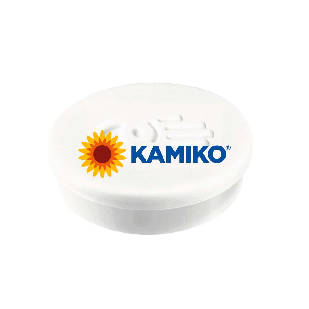 Magnet 20 mm biely, 10 ks