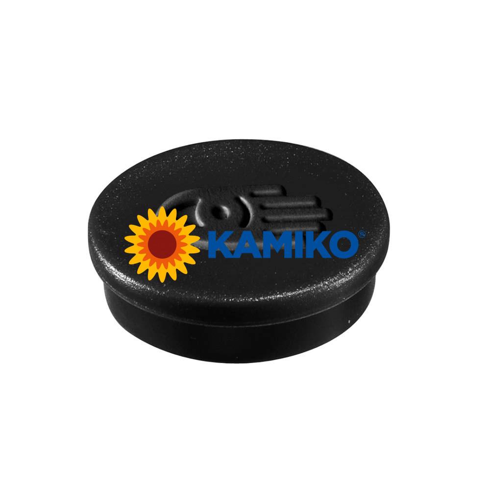 Magnet 30 mm čierny, 10 ks