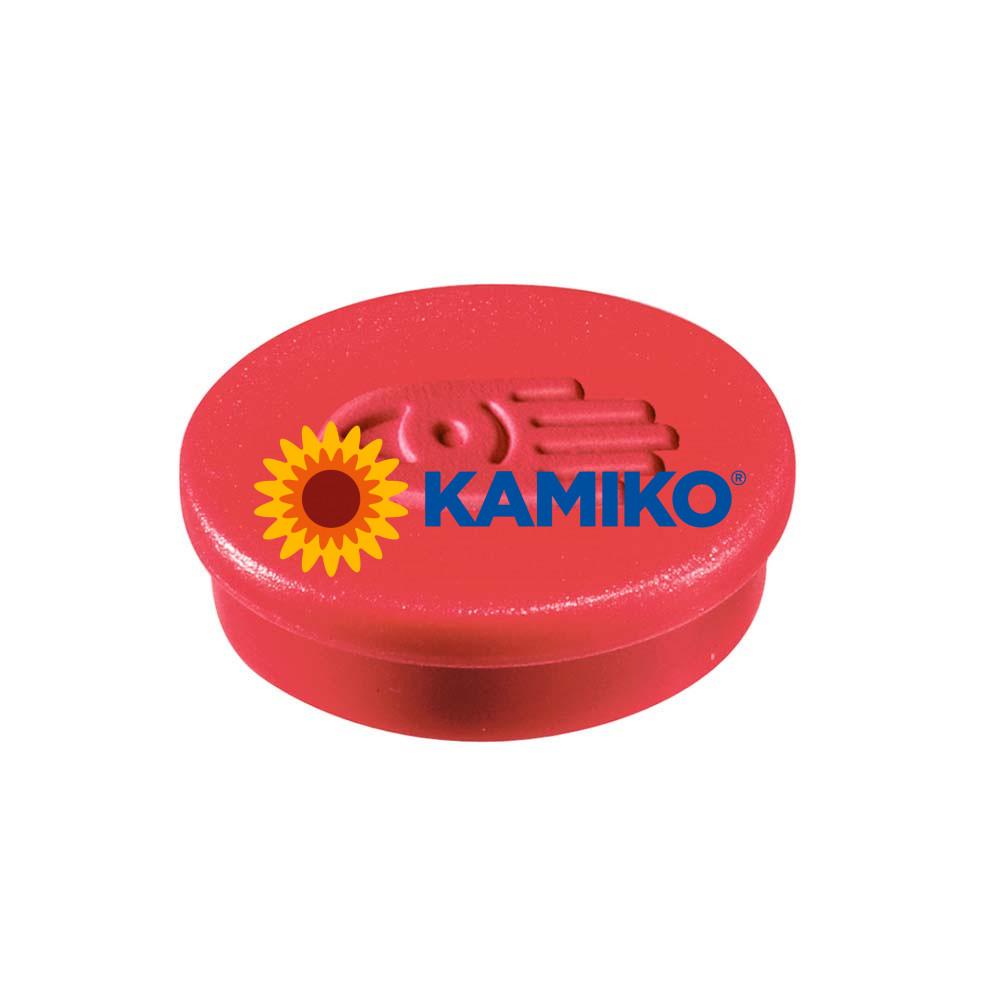 Magnet 30 mm červený, 10 ks