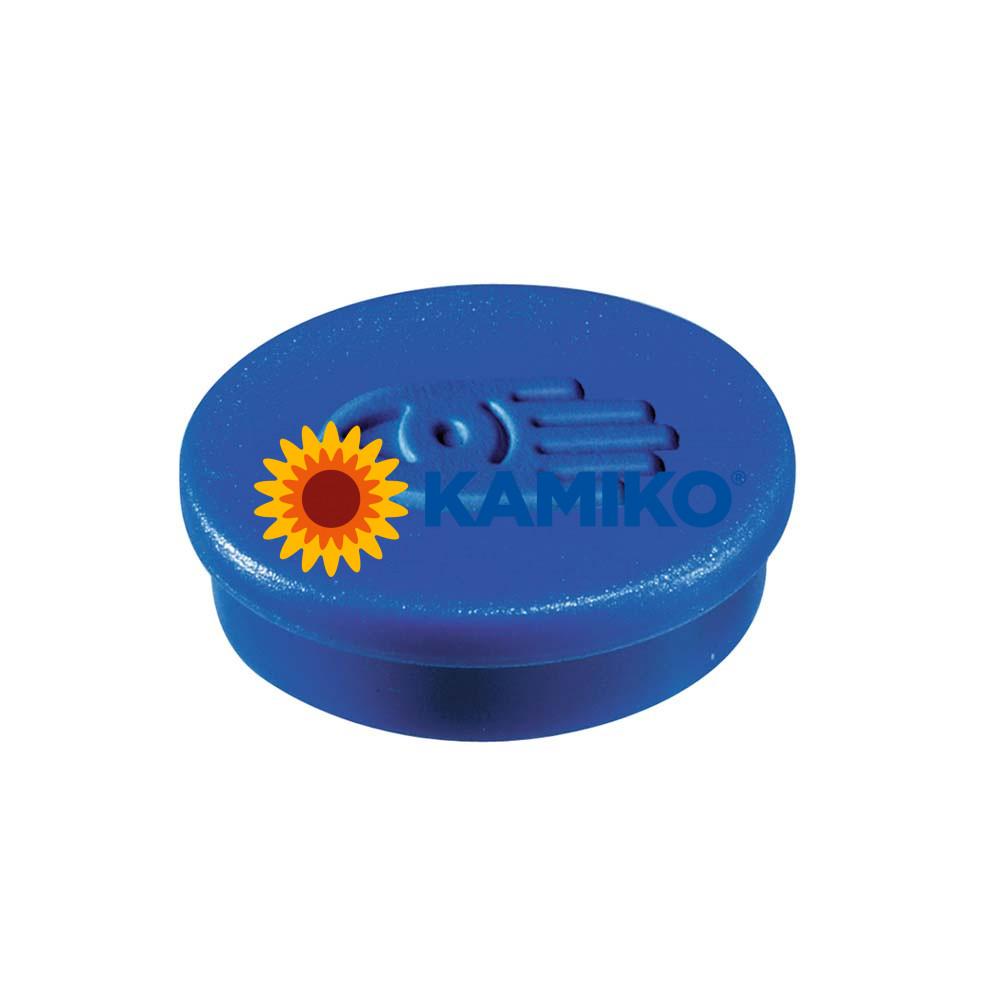 Magnet 30 mm modrý, 10 ks
