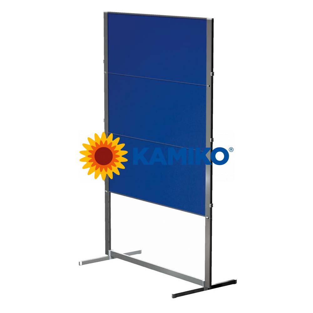 Moderačná tabuľa plstená skladacia PROFESSIONAL150 x 120 cm, modrá
