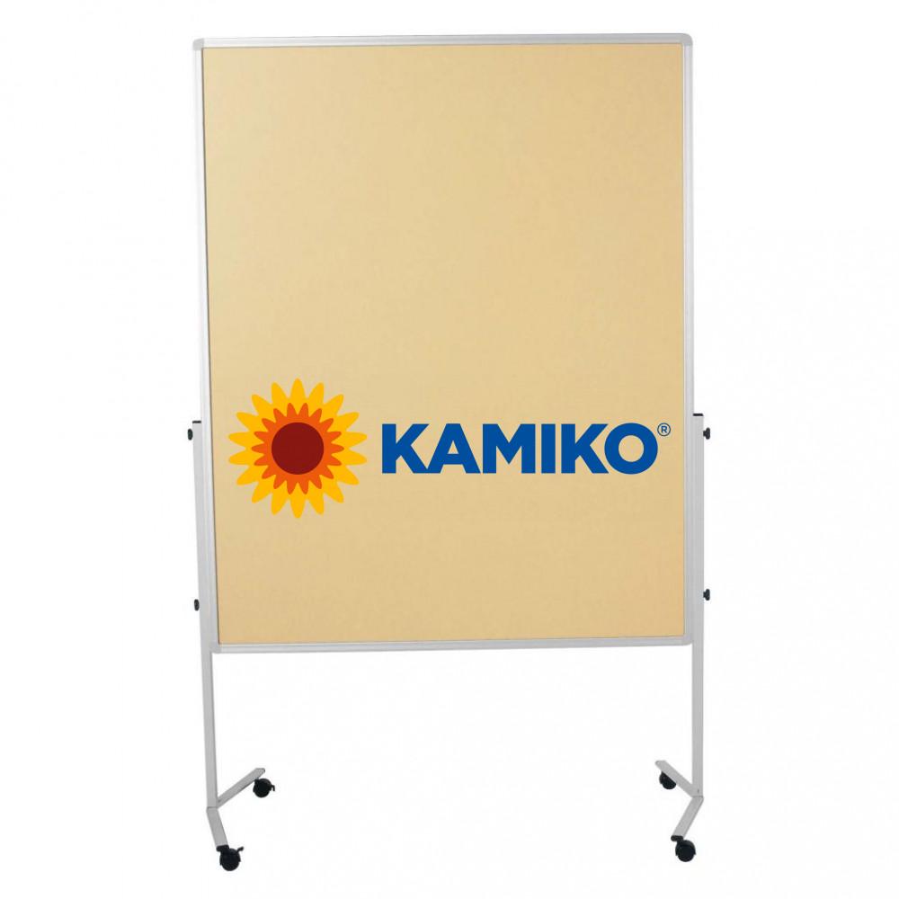 Moderačná tabuľa plstená PREMIUM 150 x 120 cm, béžová