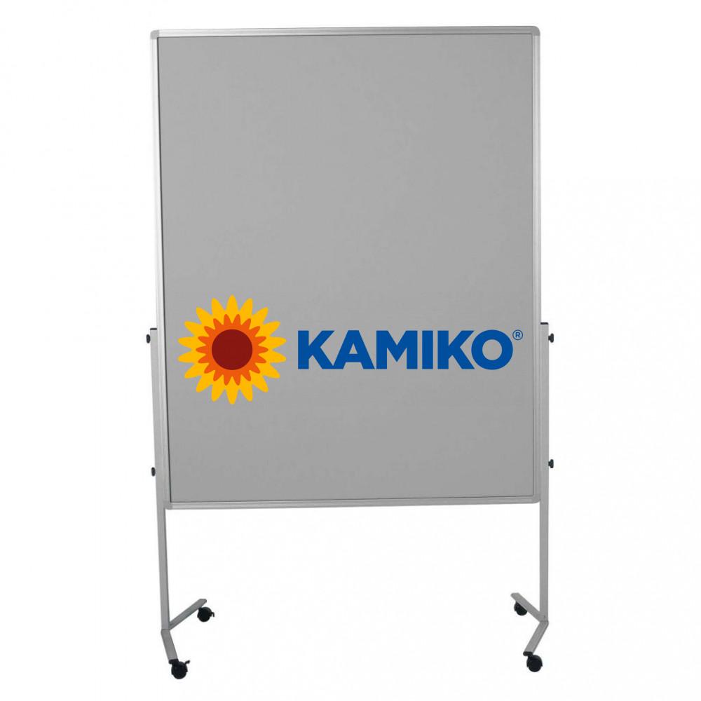 Moderačná tabuľa plstená PREMIUM 150 x 120 cm, sivá