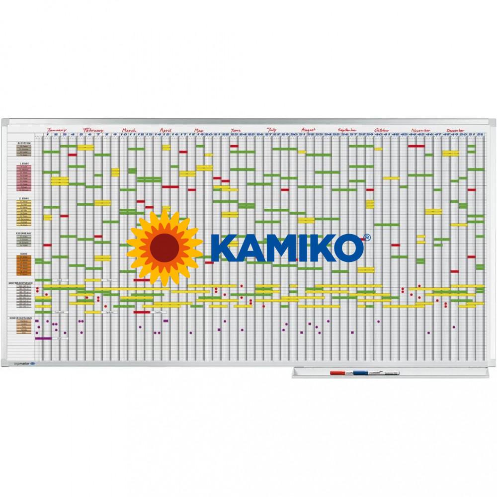 Plánovacia tabuľa PROFESSIONAL 100 x 200 cm