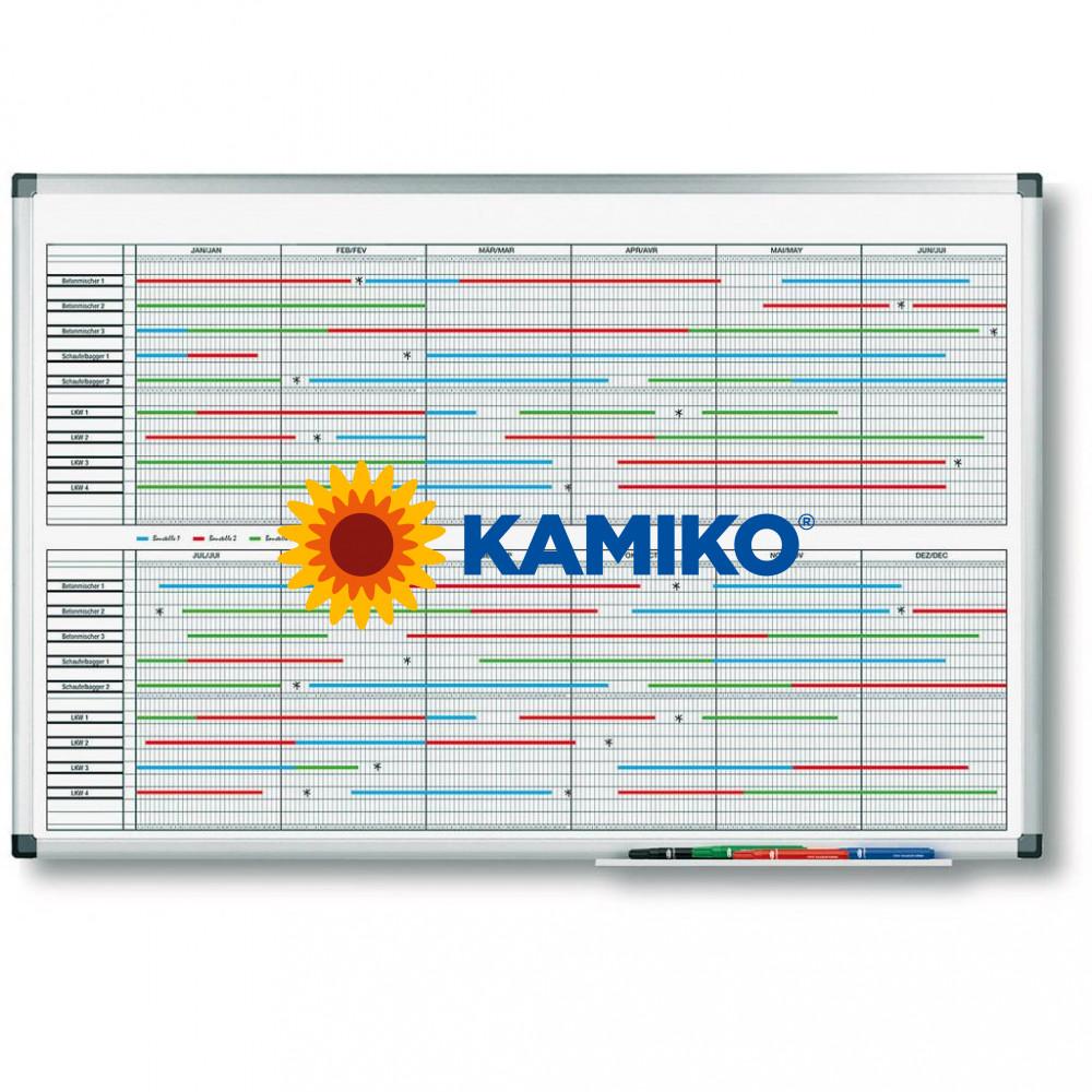 Plánovacia tabuľa PREMIUM na dlhodobé projekty 60 x 90 cm
