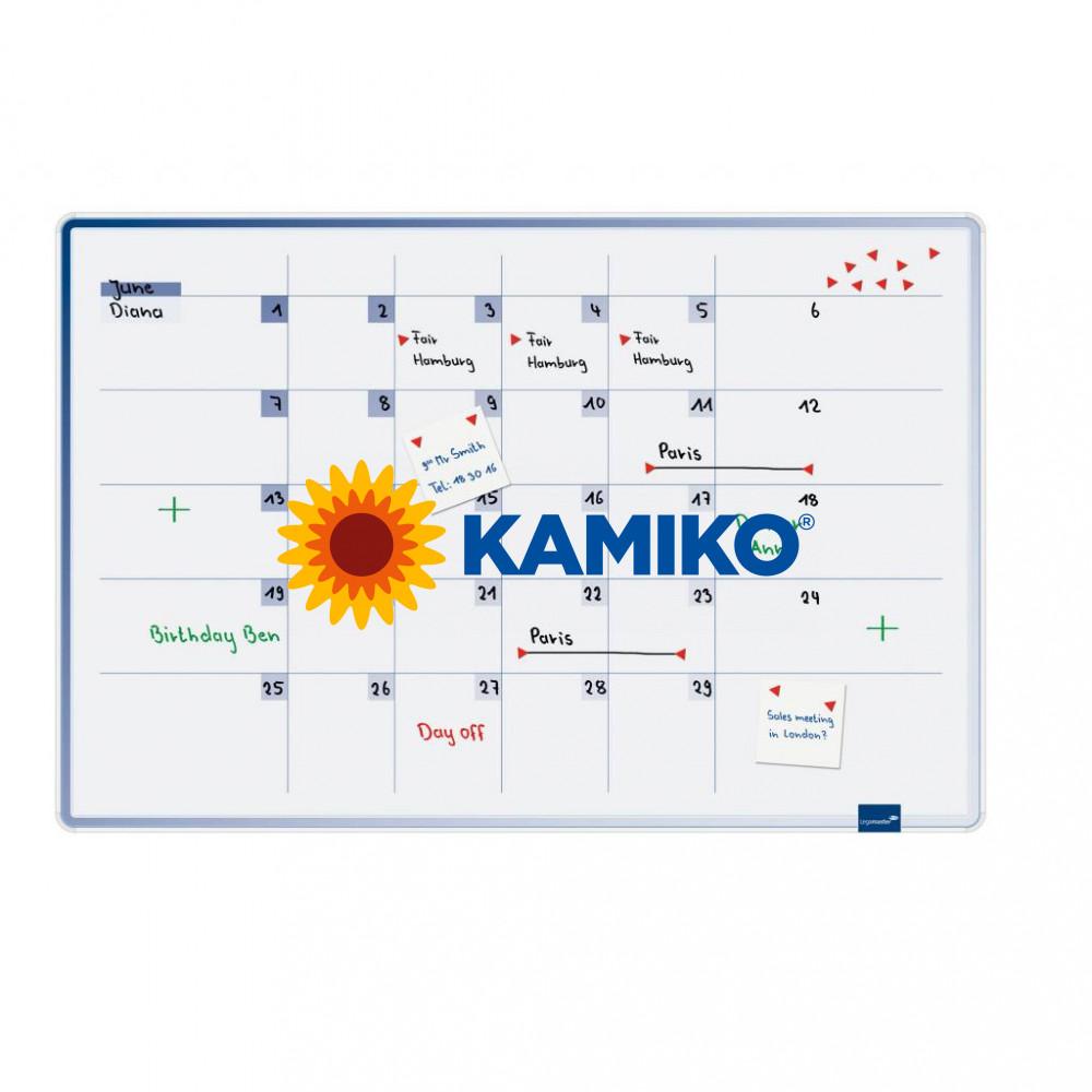 Plánovacia tabuľa mesačná ACCENTS 60 x 90 cm