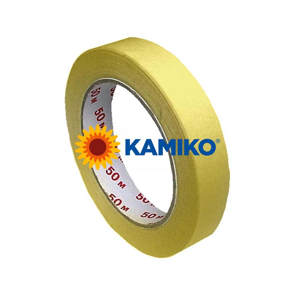 Maskovacia krepová páska 19 mm x 50 m žltá