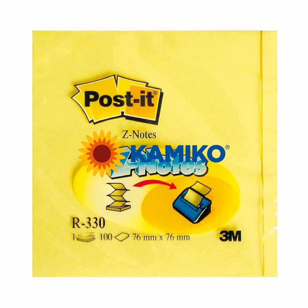 Samolepiaci Z-bloček Post-it žltý 76 x 76 mm