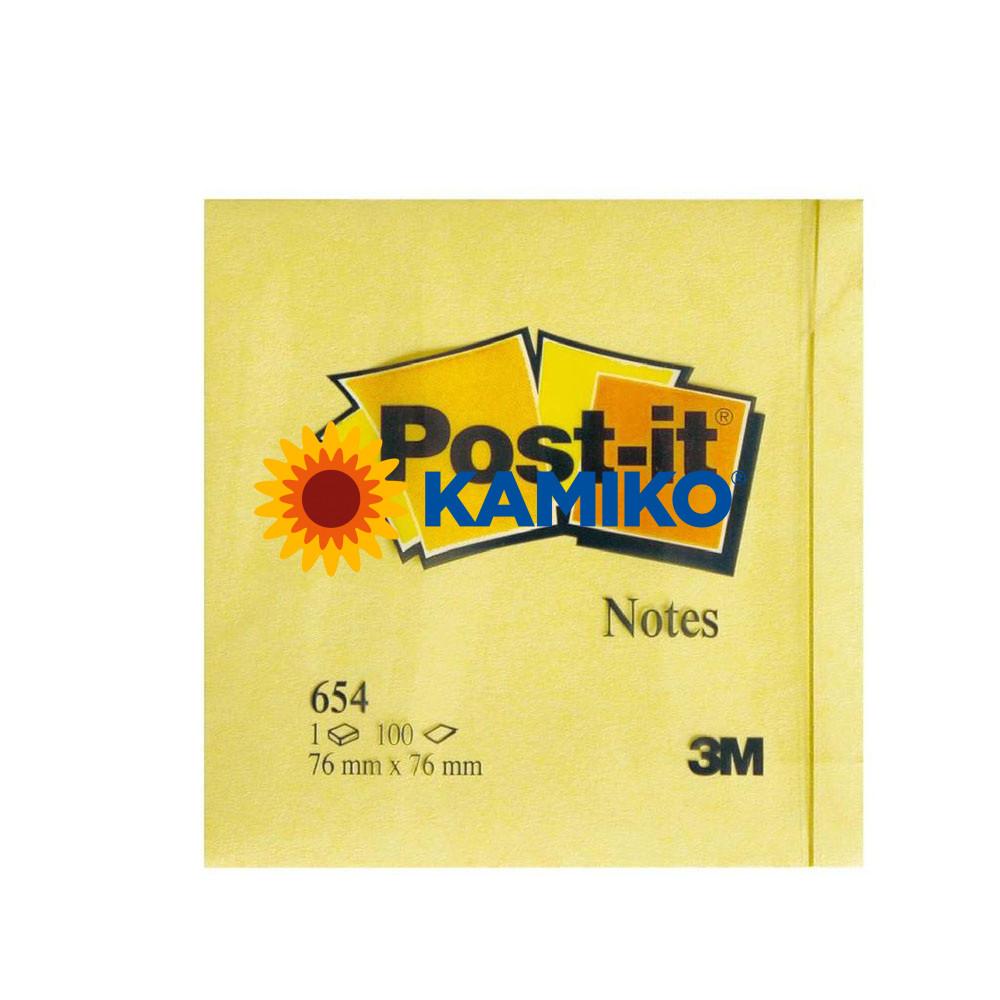 Samolepiaci bloček Post-it žltý 76 x 76 mm