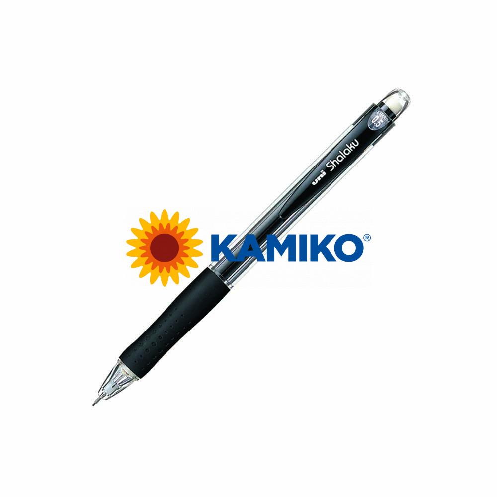 Mikroceruzka uni Shalaku M5-100 0,5 mm čierna