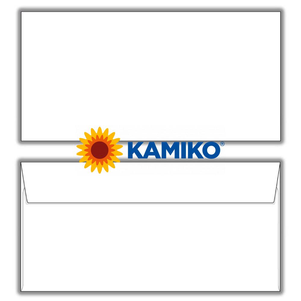 Poštové obálky DL s páskou, 1 000 ks