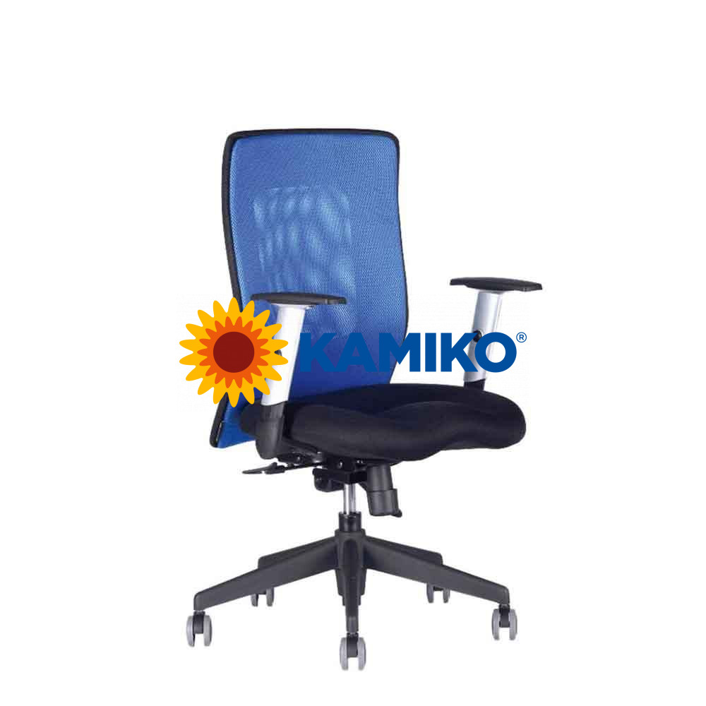 Kancelárska stolička CALYPSO XL modrá