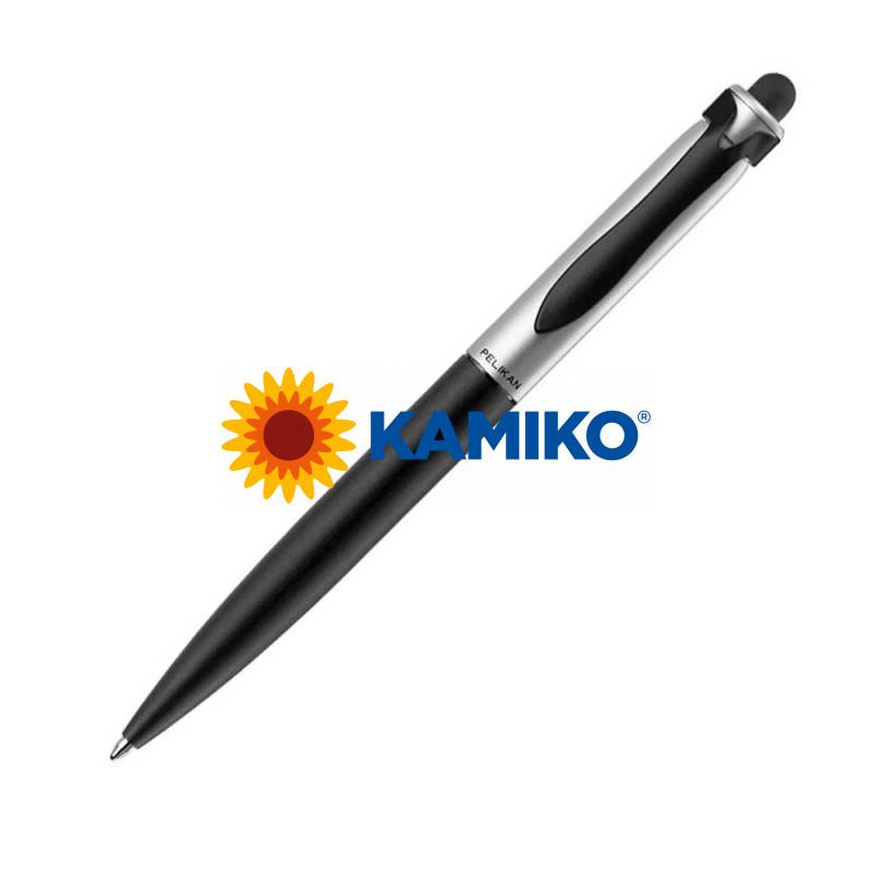 Guľôčkové pero PELIKAN Stola II čierno-strieborné v krabičke