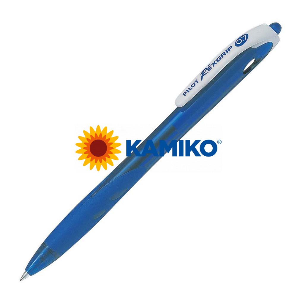 Guľôčkové pero PILOT RéxGrip BeGreen modré