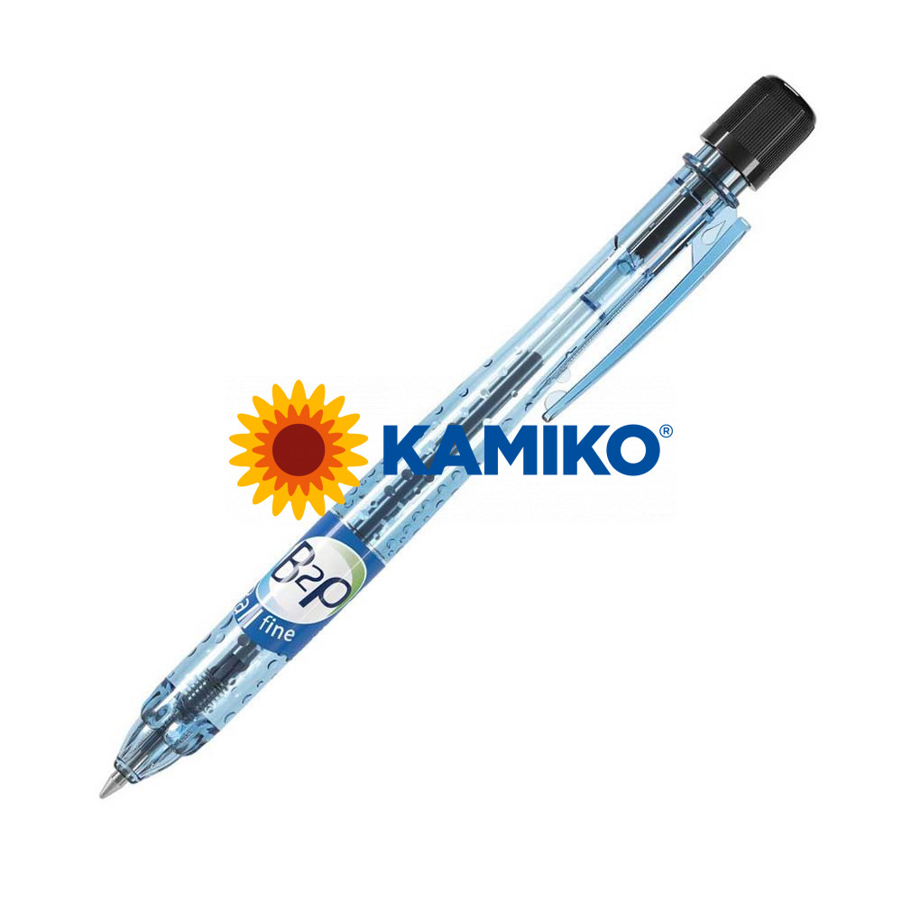 Guľôčkové pero PILOT B2P BeGreen čierne