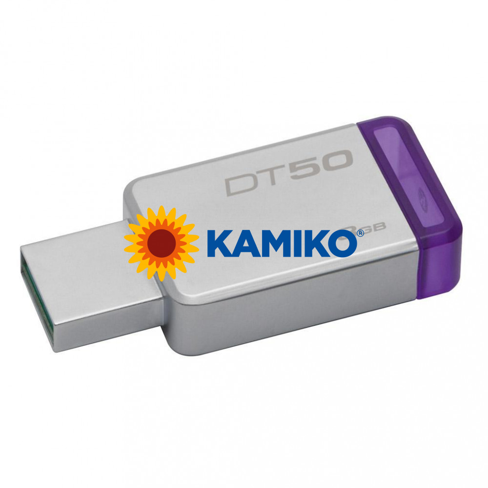 USB 8 GB Drive Data Traveler 3.0 Kingston DT 50