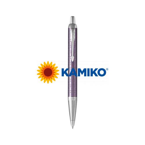 Guľočkové pero PARKER I. M. Premium Dark Violet