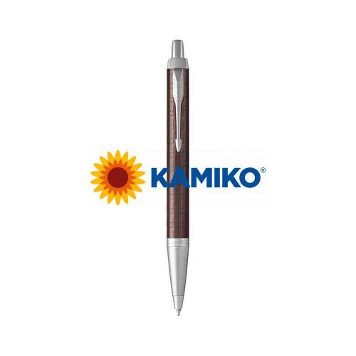 Guľočkové pero PARKER I. M. Premium Brown