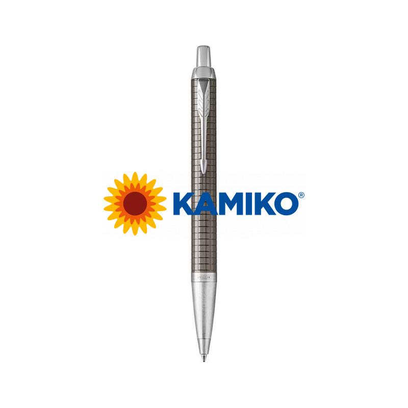 Guľočkové pero PARKER I. M. Premium Dark Espresso