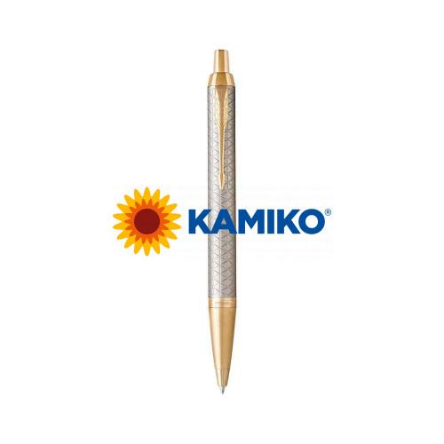 Guľočkové pero PARKER I. M. Premium Warm Grey